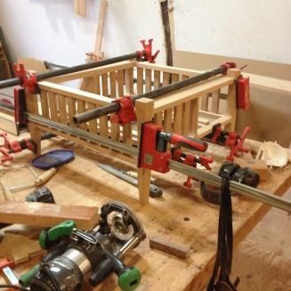 Oak Table - Construction