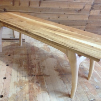 Salvaged Maple Table