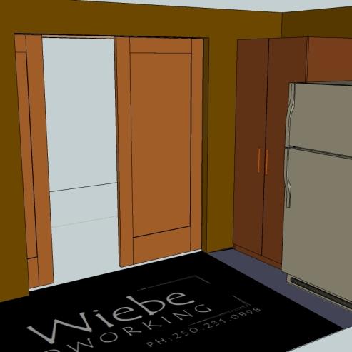 Pocket door / pantry concept