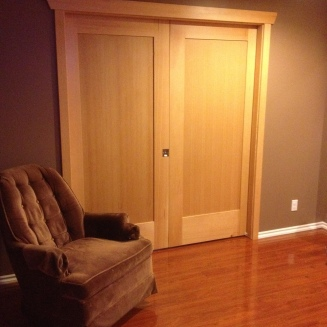 Pocket door 2 - VG Fir