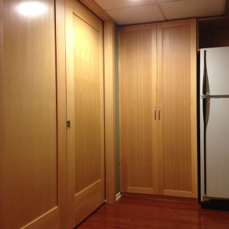 Pocket door 1 & pantry - VG Fir