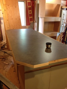 Island Counter Replacement