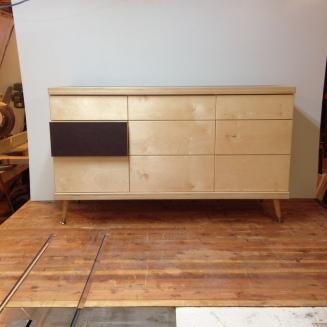 Dresser I - baltic birch, formica