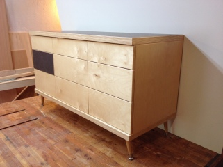 Dresser II - baltic birch, formica