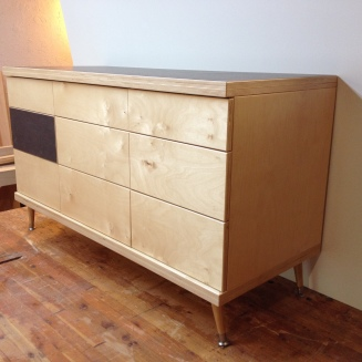 Dresser II - baltic birch, formica