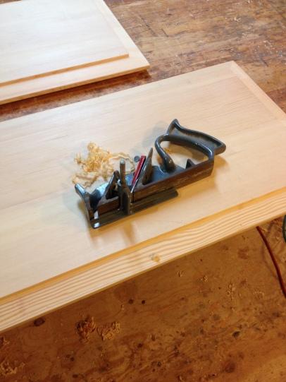 Craftsman plane & raised panel