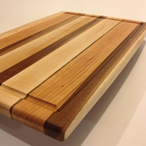 Maple, Walnut & Cherry Board