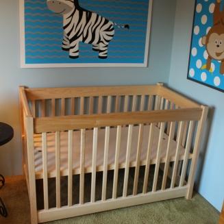 Maple Crib